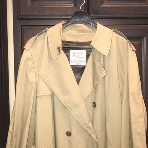 London Fog Men's trench coat